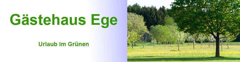Gästehaus Ege Logo